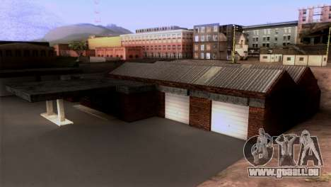 New LSPD garage pour GTA San Andreas