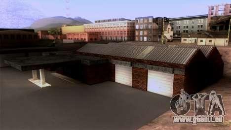 New LSPD garage für GTA San Andreas