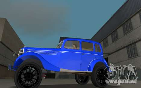 GAZ 11-73 Bleu Royal pour une vue GTA Vice City de la gauche