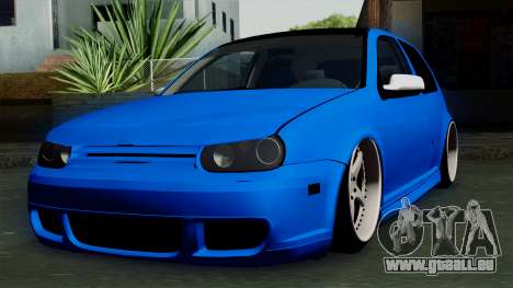Volkswagen Golf Mk4 Stance pour GTA San Andreas