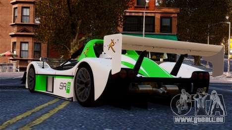 Radical SR8 RX 2011 pour GTA 4 Vue arrière de la gauche
