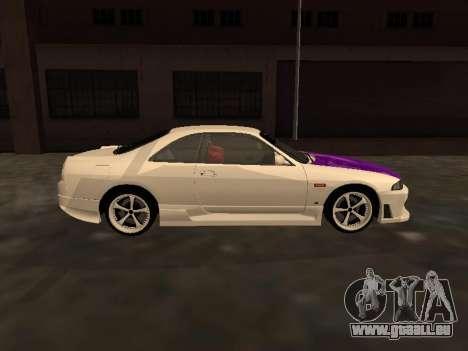 Nissan Skyline R33 Drift Monster Energy JDM für GTA San Andreas Innenansicht
