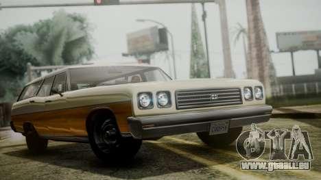 GTA 5 Dundreary Regina IVF pour GTA San Andreas