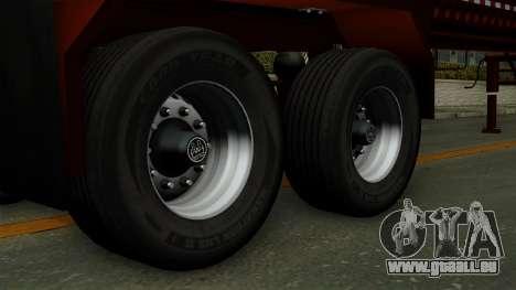 Trailer Log v1 pour GTA San Andreas sur la vue arrière gauche
