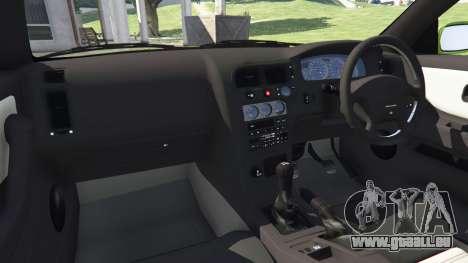 GTA 5 Nissan Skyline BCNR33 [Beta] rechte Seitenansicht