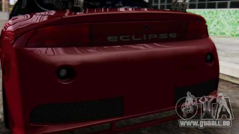 Mitsubishi Eclipse GSX 1999 Mugi Itasha für GTA San Andreas Innenansicht