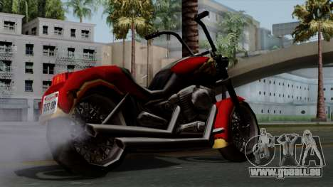 Freeway Avenger für GTA San Andreas linke Ansicht