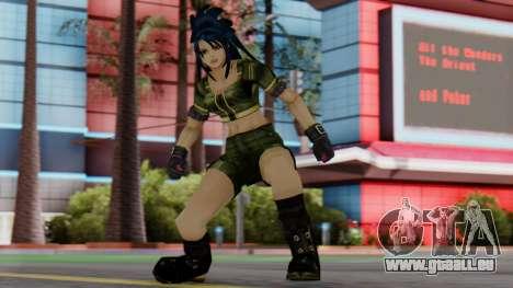 Leona from KoF Maxium Impact pour GTA San Andreas