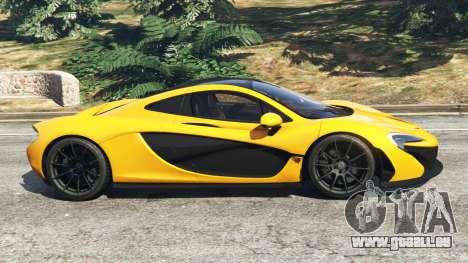 GTA 5 McLaren P1 2014 linke Seitenansicht
