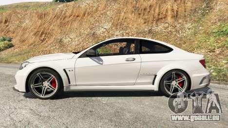 GTA 5 Mercedes-Benz C63 AMG 2012 linke Seitenansicht