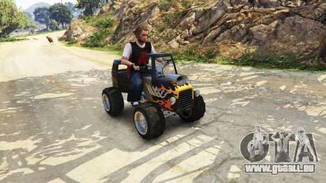 GTA 5 Le trafic sur la route troisième capture d'écran