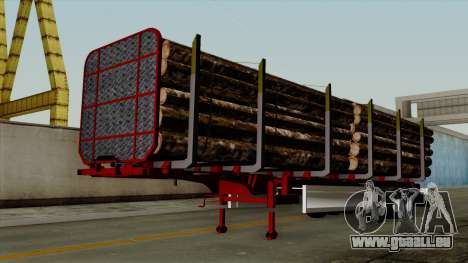 Trailer Fliegl v2 für GTA San Andreas
