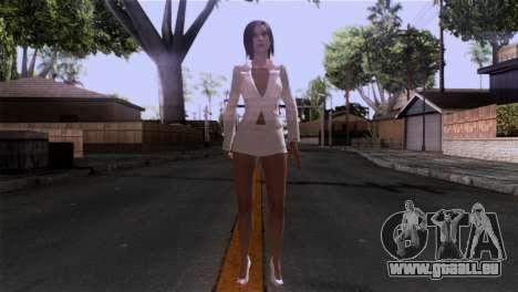 Detaillierte Haut Mädchen für GTA San Andreas zweiten Screenshot