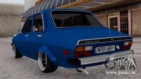Dacia 1310 TX pour GTA San Andreas laissé vue