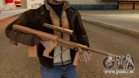 Steyr AUG from GTA VC Beta für GTA San Andreas dritten Screenshot