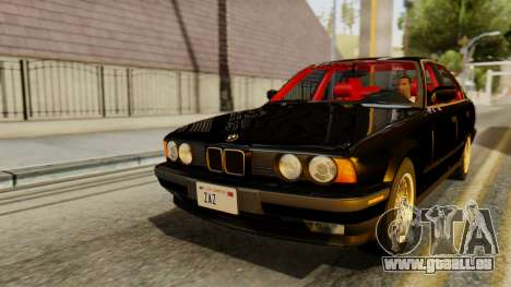 BMW 535i E34 1993 pour GTA San Andreas