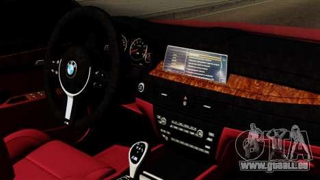 BMW 7 2015 pour GTA San Andreas vue de droite