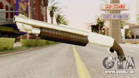 Bluten original-pump-action-Schrotflinte für GTA San Andreas