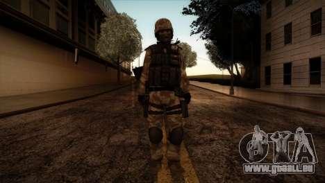 U.S.A. Ranger pour GTA San Andreas deuxième écran