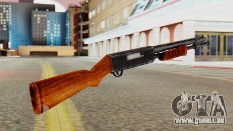 Xshotgun fusil à Pompe pour GTA San Andreas deuxième écran