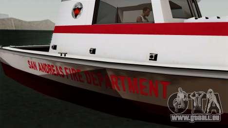 FDSA Reefer pour GTA San Andreas sur la vue arrière gauche