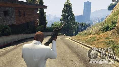 GTA 5 Battlefield 4 Famas quatrième capture d'écran