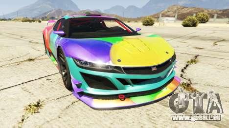 Dinka Jester (Racecar) Balloons für GTA 5