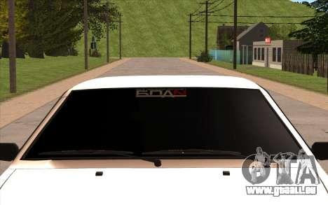 VAZ 21099 pour GTA San Andreas sur la vue arrière gauche