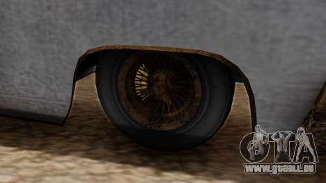 GTA 5 Declasse Voodoo Worn für GTA San Andreas zurück linke Ansicht