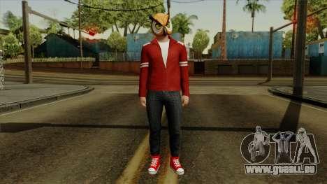 VanossGaming Skin pour GTA San Andreas deuxième écran