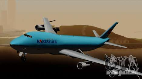 Boeing 747 Korean Air für GTA San Andreas