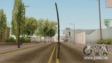 Original HD Katana für GTA San Andreas zweiten Screenshot