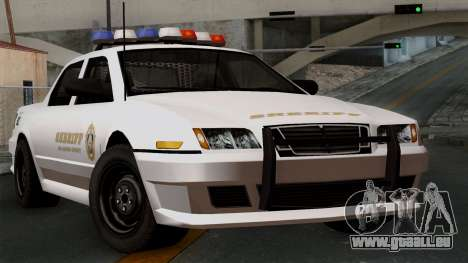 GTA 5 Sheriff Car pour GTA San Andreas