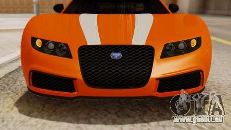GTA 5 Adder Secondary Color pour GTA San Andreas vue de droite