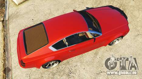 GTA 5 Enus Windsor Rolls Royce Wraith Rückansicht