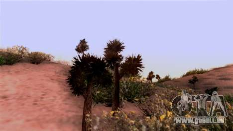 Wahre Beschaffenheit der vegetation für GTA San Andreas zweiten Screenshot
