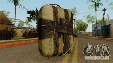 Original HD Satchel für GTA San Andreas