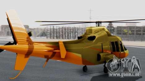 Swift Deluxe pour GTA San Andreas laissé vue