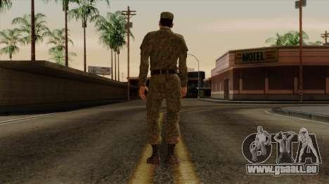 L'ordinaire de la russie moderne de l'armée pour GTA San Andreas troisième écran