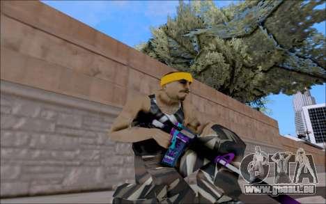 M4A1 Color für GTA San Andreas