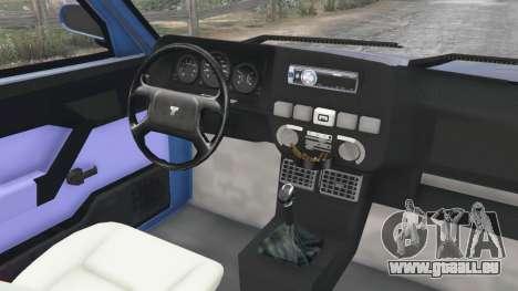 GTA 5 Tofas Dogan rechte Seitenansicht