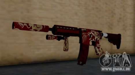 M4A1 Royal Dragon pour GTA San Andreas