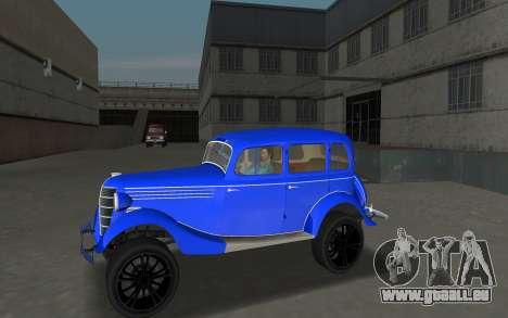 GAZ 11-73 Bleu Royal pour GTA Vice City