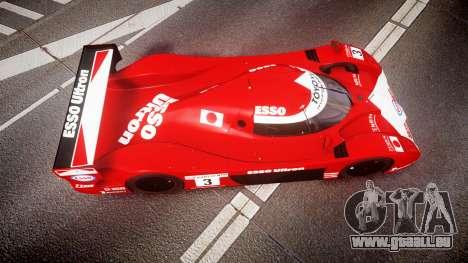Toyota GT-One TS020 Le Mans 1999 für GTA 4 rechte Ansicht
