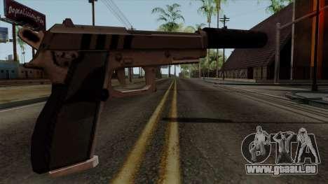Original HD Silenced Pistol pour GTA San Andreas deuxième écran