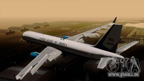 Boeing C-32 Air Force Two pour GTA San Andreas laissé vue
