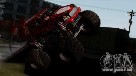 The Seventy Monster v2 pour GTA San Andreas vue de droite