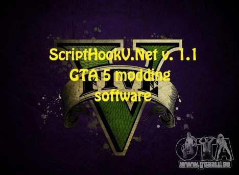 ScriptHookV.NET v.1.1 pour GTA 5