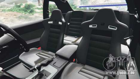 GTA 5 Nissan Skyline R34 GT-R v0.1 rechte Seitenansicht