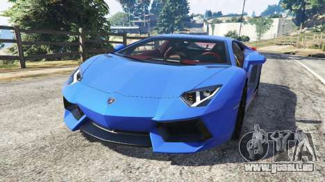 Lamborghini Aventador LP700-4 v1.2 für GTA 5